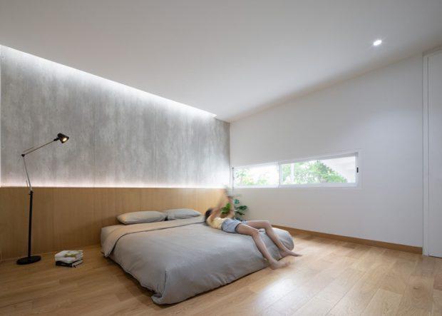 ห้องนอนตกแต่งช่องแสงสวย ๆ