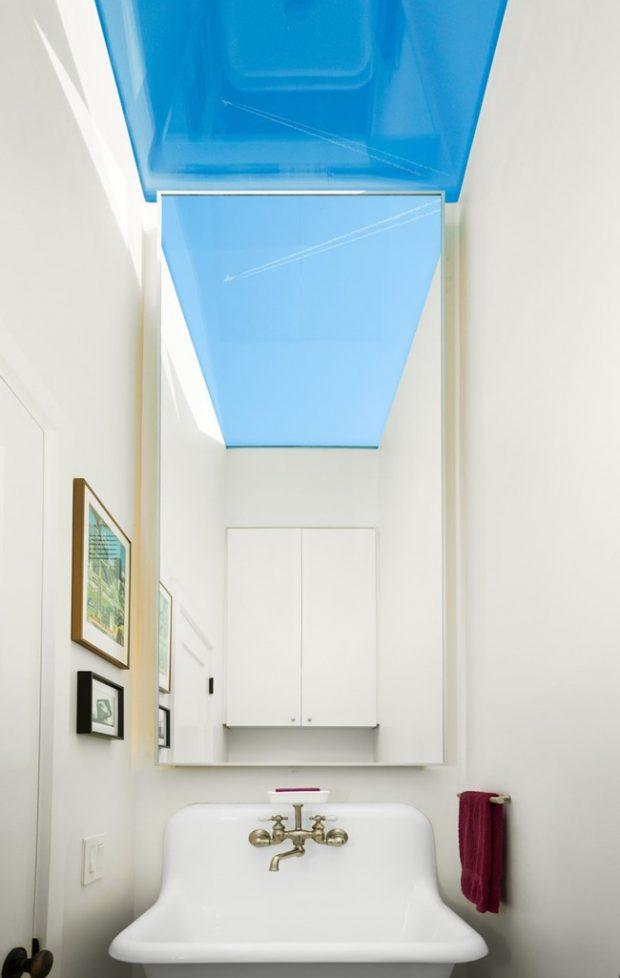 ช่องแสง skylight ในห้องน้ำ