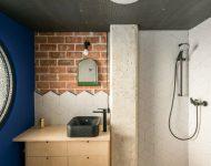 ห้องน้ำโมเดิร์นอินดัสเทรียล