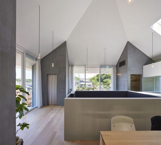 เหลี่ยมมุมของฝ้าเพดาน
