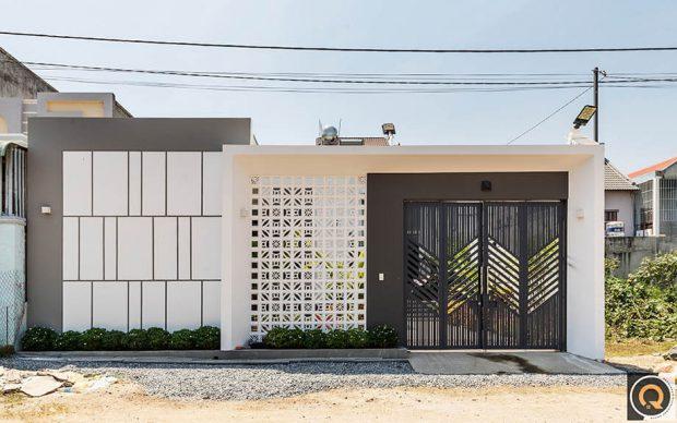 สร้างบ้านบนที่ดินหน้าแคบ