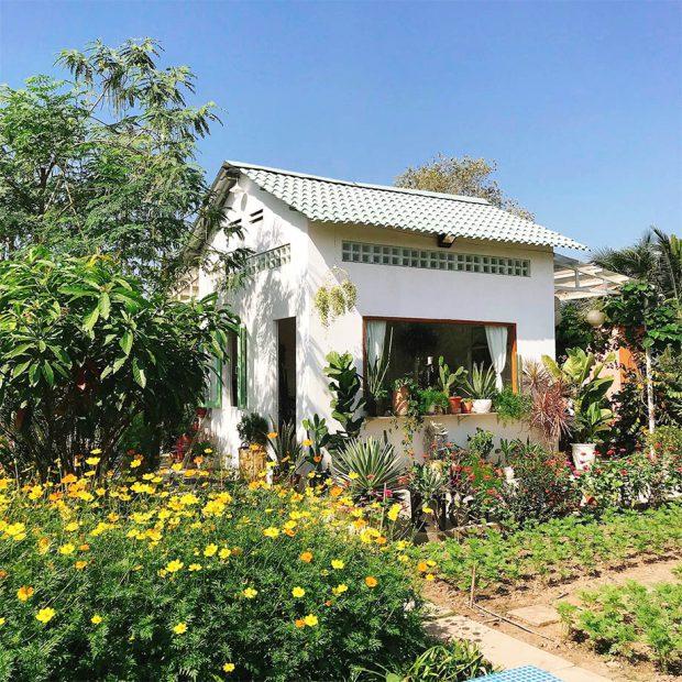 สร้างบ้านหลังเล็กในสวน
