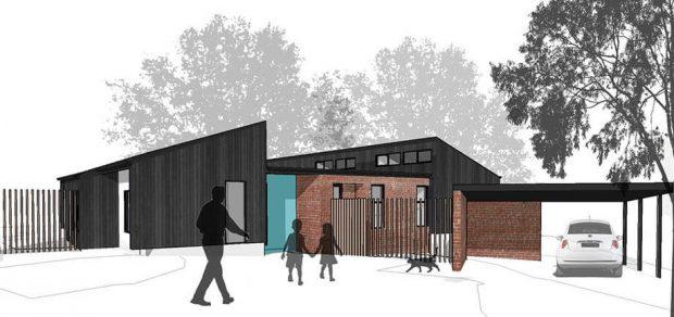 ออกแบบบ้านชั้นเดียว 3D