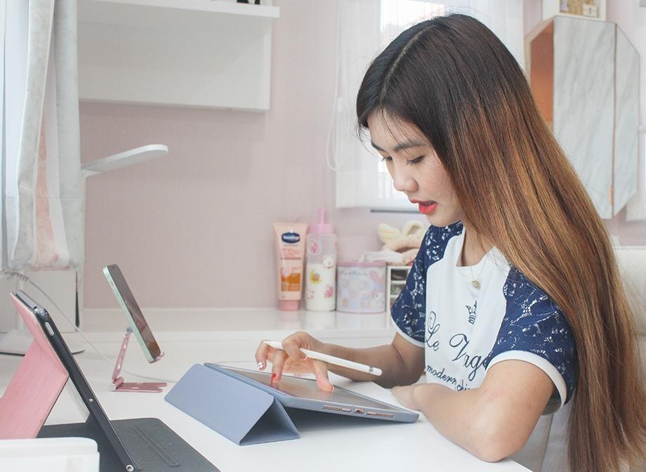 เรียน online