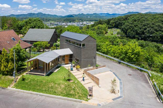 บ้านสองระดับในญี่ปุ่น