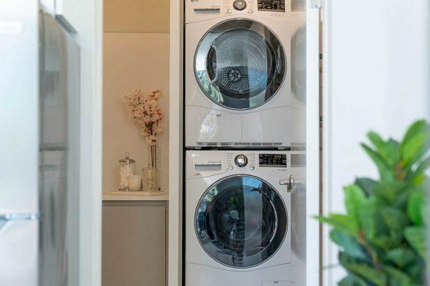 บิลท์อินชั้นวางเครื่องซักผ้า