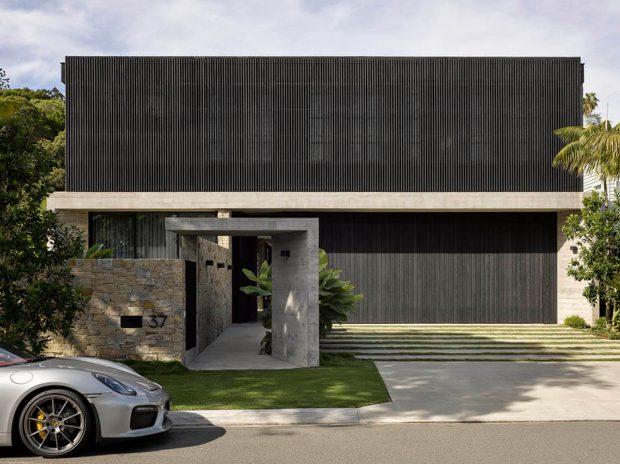 หน้าบ้านคอนกรีต