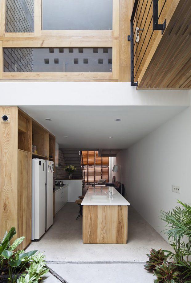 บ้านเจาะโถงสูง double space