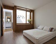 ห้องนอนหน้าต่างกว้าง