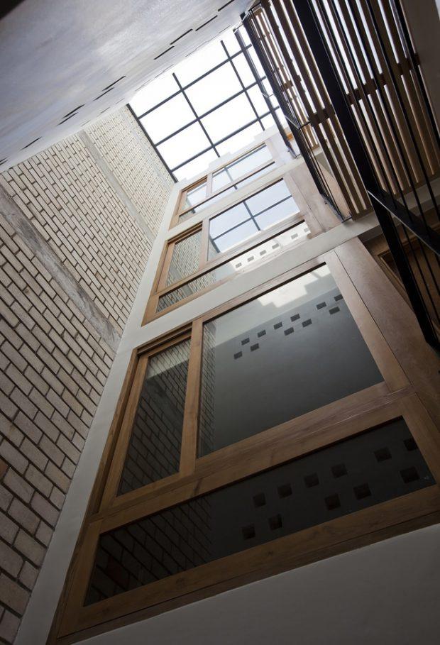 บ้าน double space มี skylight
