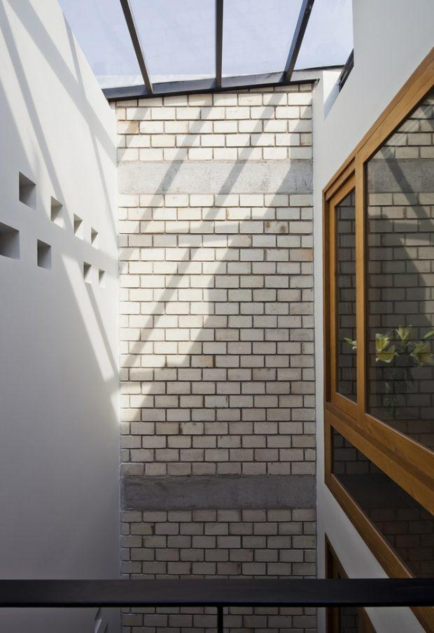 ช่องแสง skylight กลางบ้าน