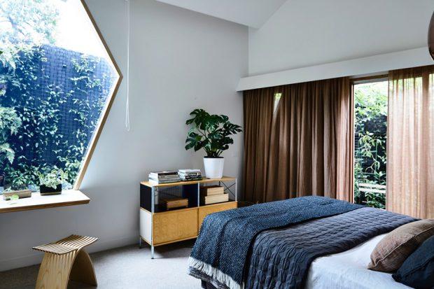 ห้องนอนช่องแสงเรขาคณิต