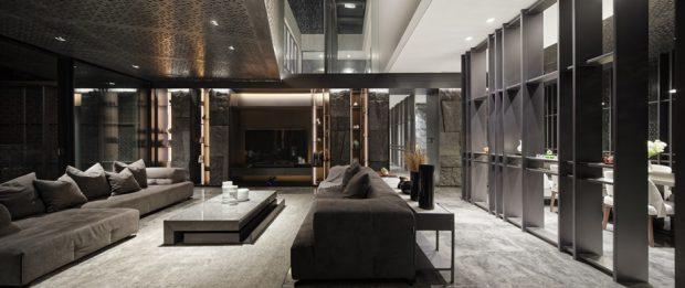 ตกแต่งบ้านสไตล์ luxury modern
