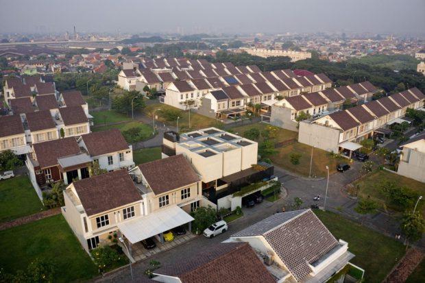 มุมมองบ้านจากด้านบน